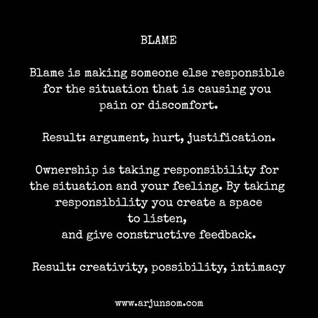 #ahamoment _BLAME kills Intimacy._._.__T