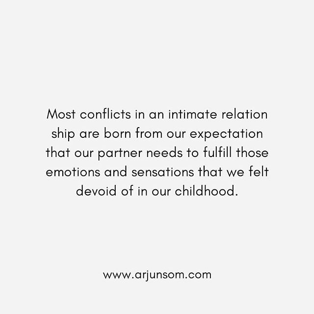 If you expect your partner to fulfill those needs which were not met in your childhood, it will complicate the relationship and make it difficult to nurture a relationship free of blame and complaints.  While your partner may support you in your journey, it's not their job to do your work or parent you.  The more you learn to take responsibility for your emotional needs, you could invite your partner to support you, without making it their responsibility.