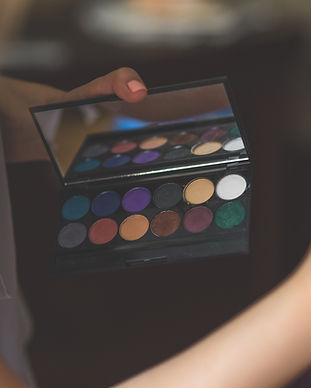 Essai de maquillage de mariée