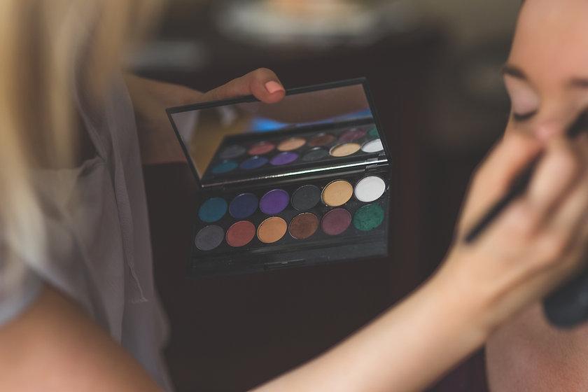 Braut Make-up-Studie