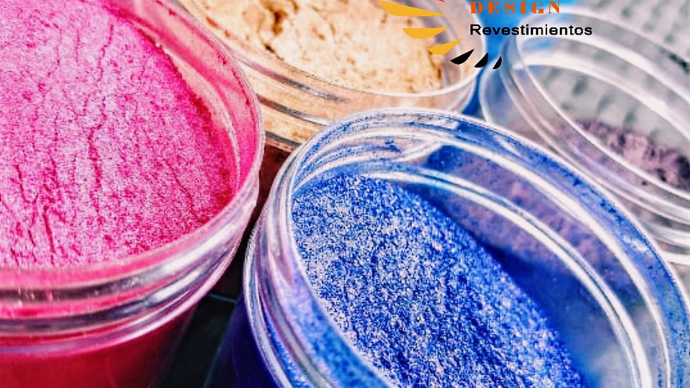 Pigmentos Metálicos 20 gr / polvo