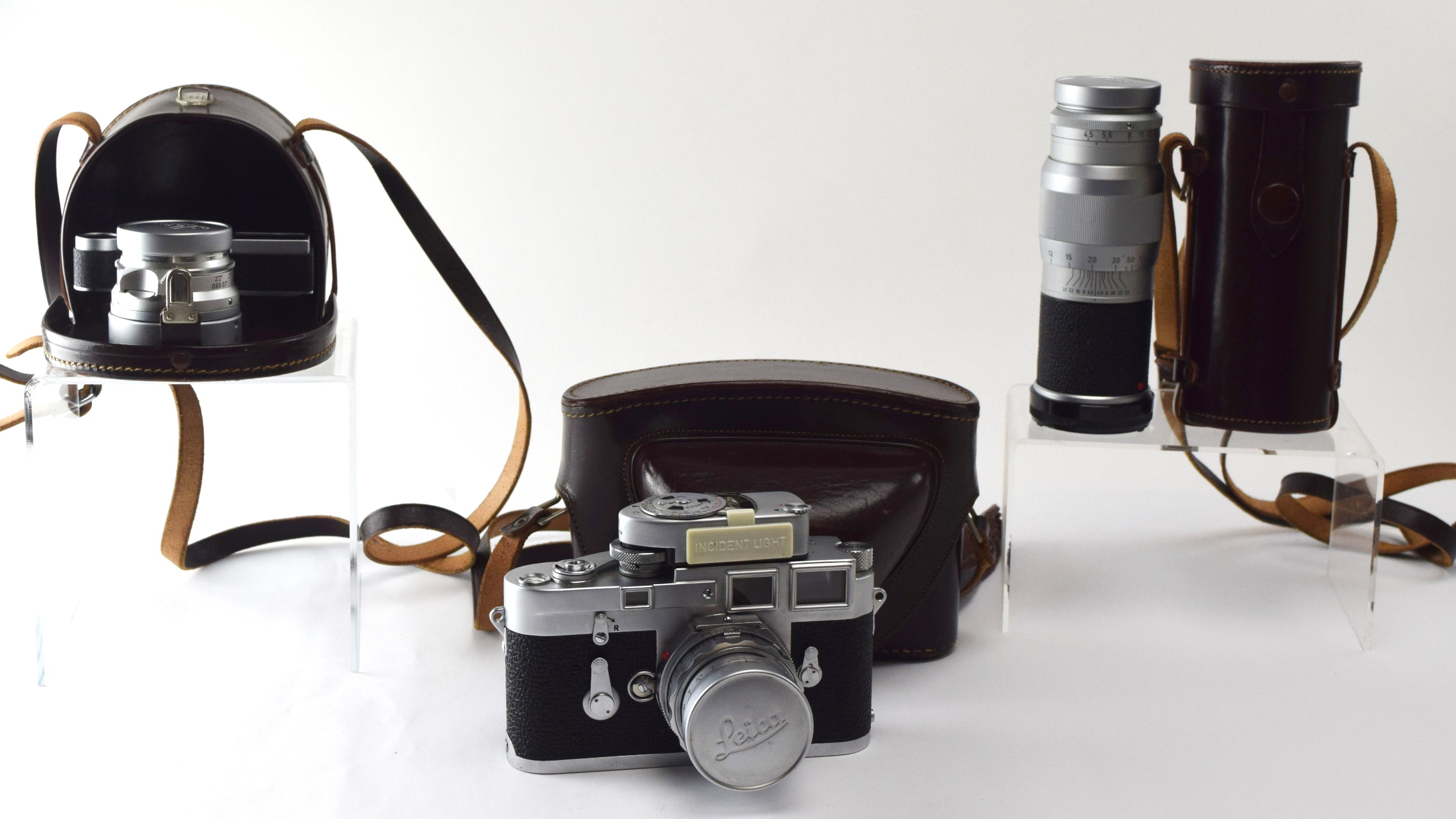 1950s Leica M3 Camera Bundle