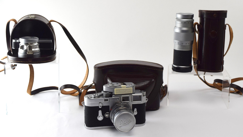 1950s Leica M3 Camera Bundle