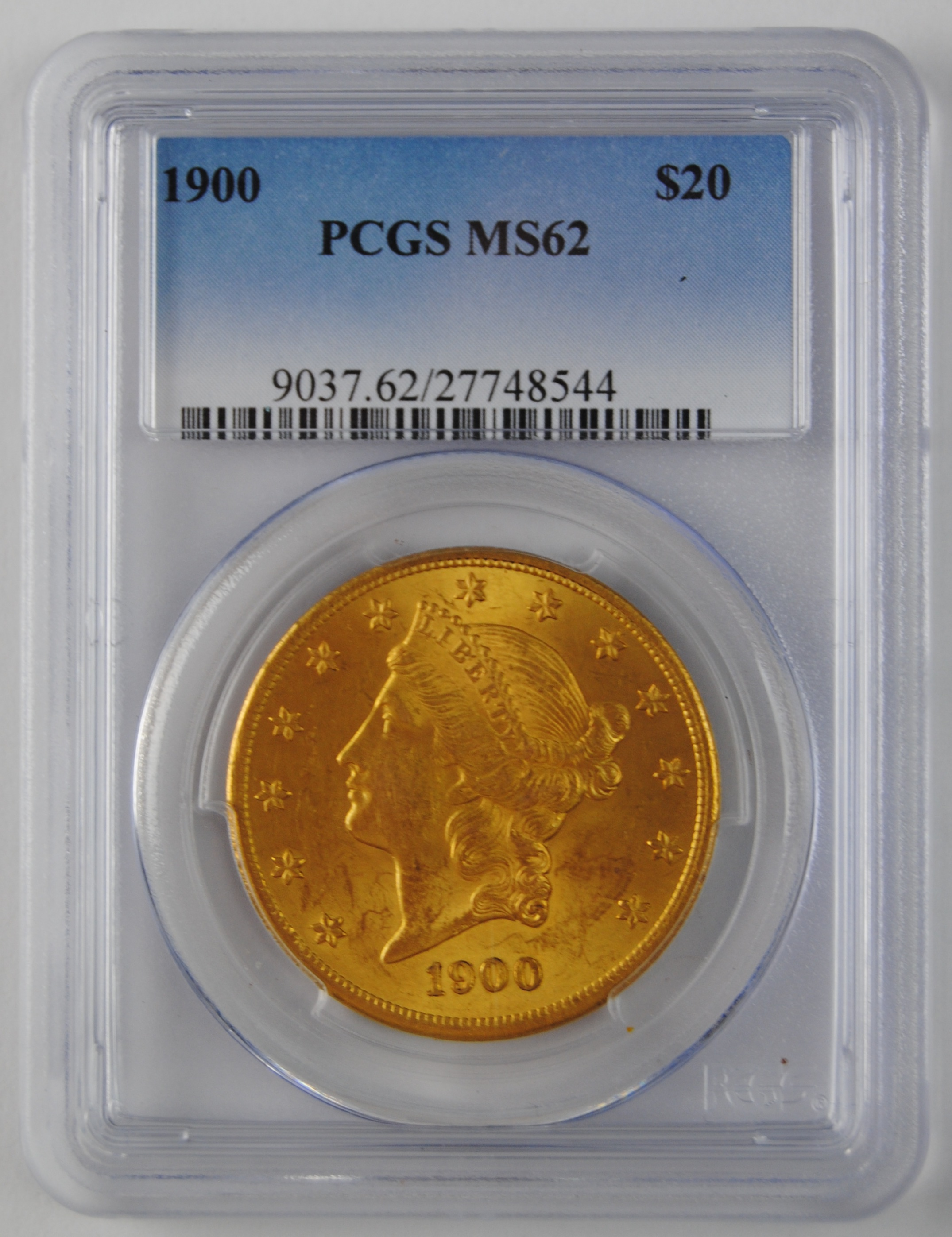 1900 $20 Gold Double Eagle
