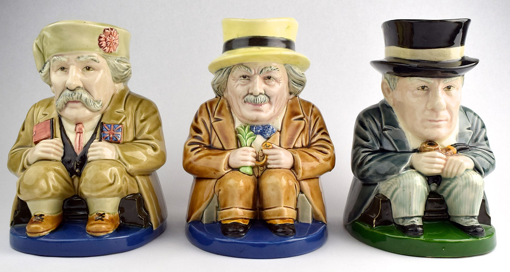 David Lloyd George, Ramsay MacDonald Toby Jugs