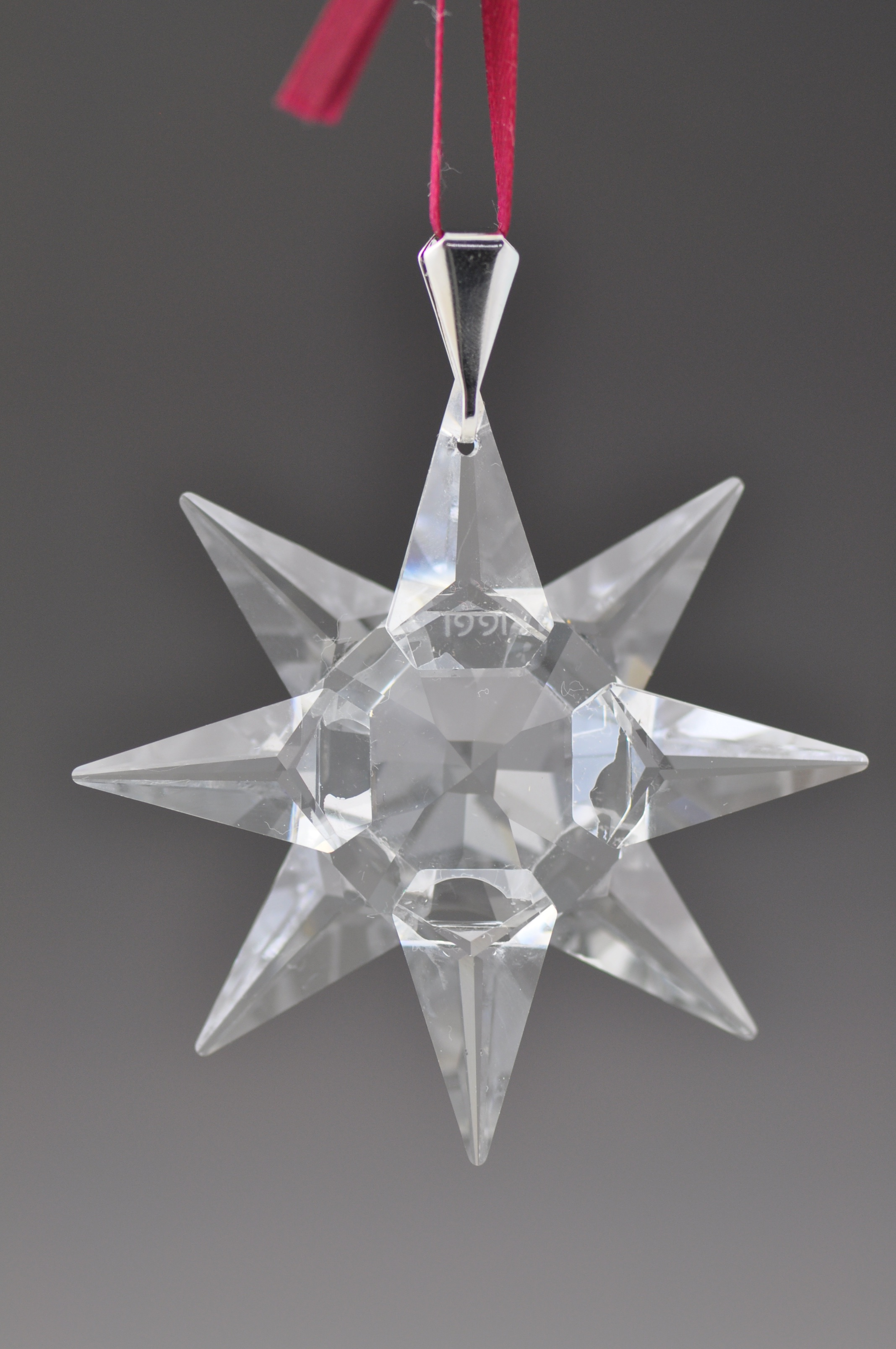 1991 Swarovski Christmas Ornament