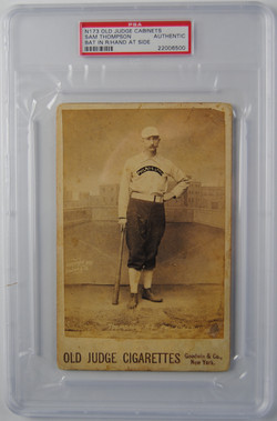 1888 Old Judge Baseball Card