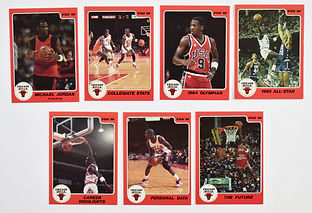1986 Michael jordan basketball card set