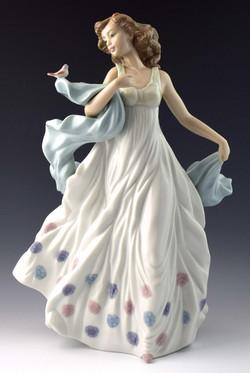 Lladro Spring Serenade Figurine