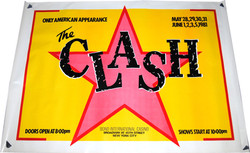 Large Original Poster for The Clash