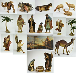 Neiman Marcus  20 Piece Dept. 56 Neapolitan Nativity Set