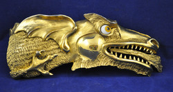 Christopher Ross Dragon Head Belt Bu