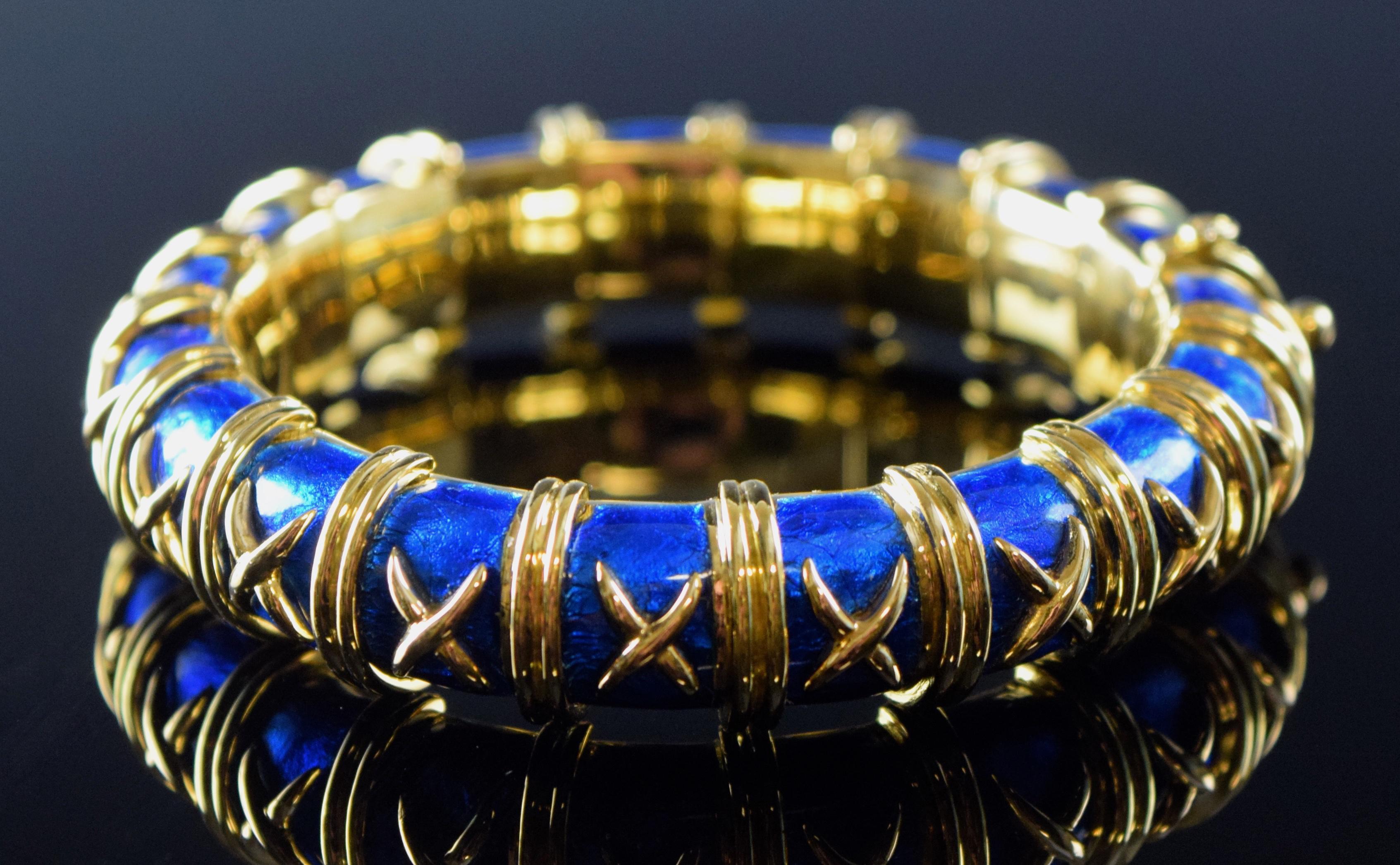 Tiffany & Co. Croisillon Bracelet
