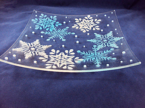 Snowflake Serving Dish