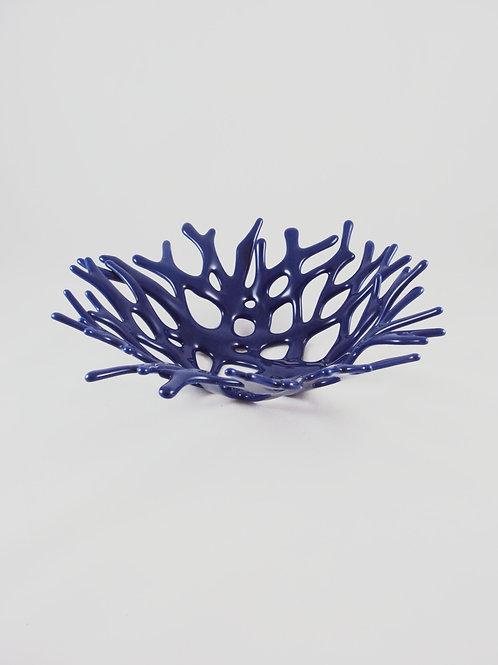 Dark Blue Coral Bowl