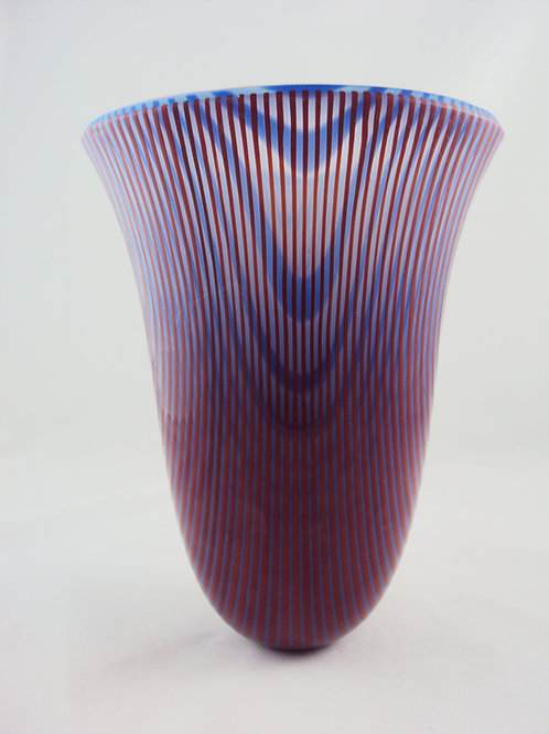 Red and Blue Drop Vessel