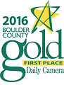 2016 Boulder County First Place Moving Company
