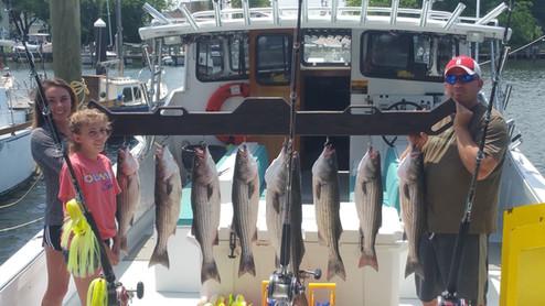 Maryland Striper Fishing