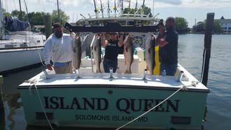 Trophy Striper Fishing