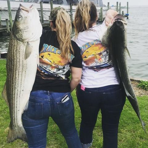 Striper Rockfish Fishing