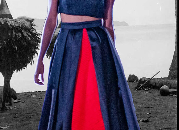 Kabiu pleated skirt