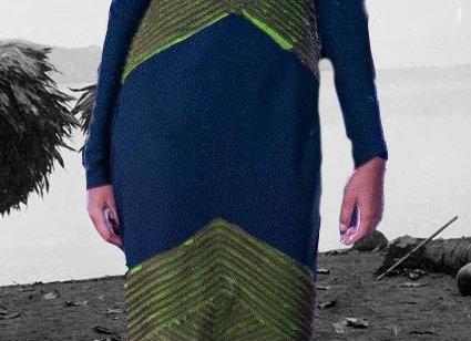 Boina L/S black dress