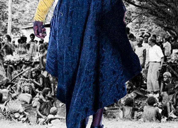 Nagunan pleated skirt