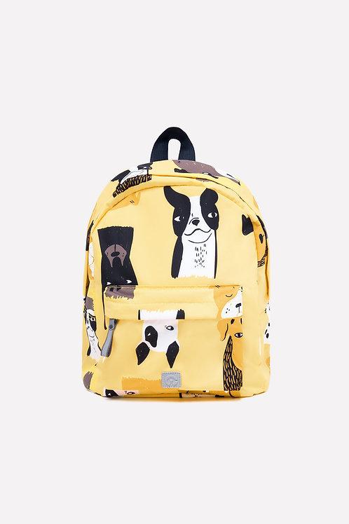 Рюкзак (желтый/собаки)