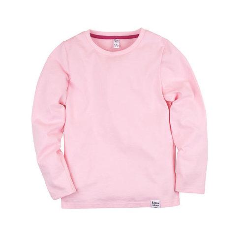 Лонгслив (Basic/розовый)