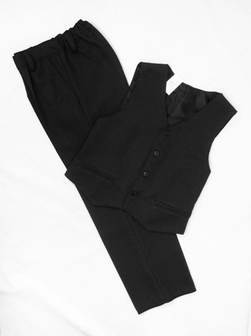 Классический костюм для малышей (черный)