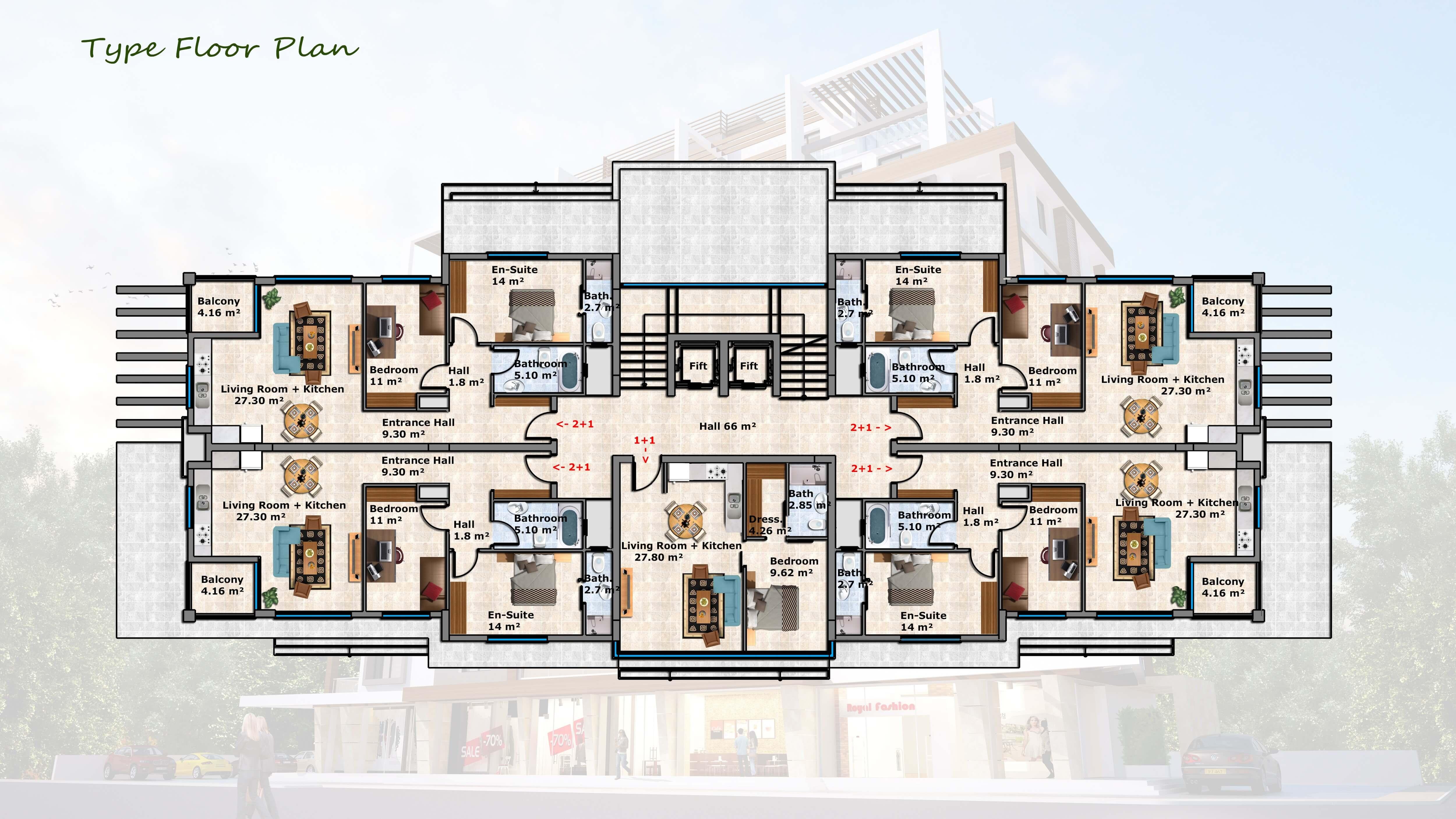 Type Floor Plan