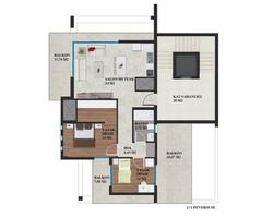 2+1 penthouse