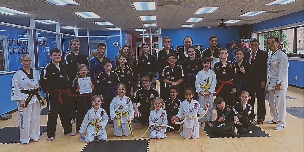 August Tae Kwon Do Promotion Testing