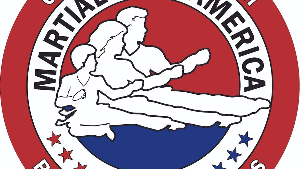 Martial Arts of America Red Car Decal