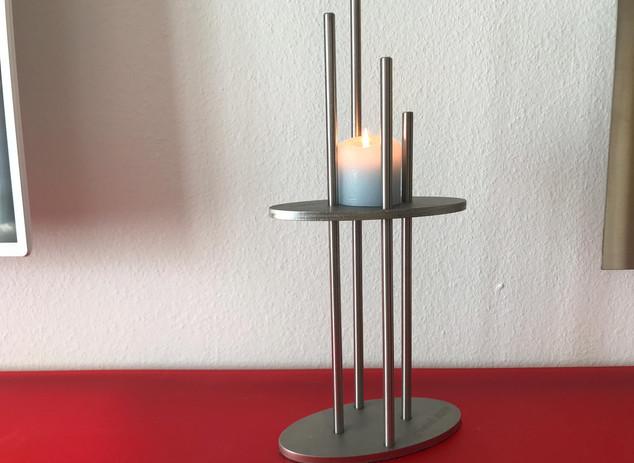 Lockdown-Kerzenständer