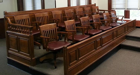 Howard County Couthouse Jury Box