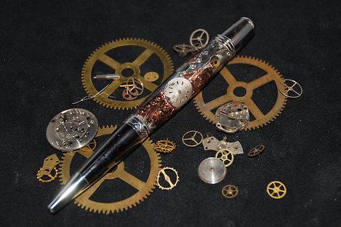 """Steampunk """"Sierra Style"""" Twist Pen"""