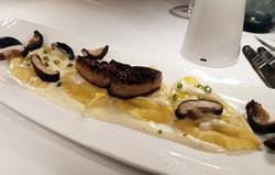 taleggio cheese ravioli-foie-gras