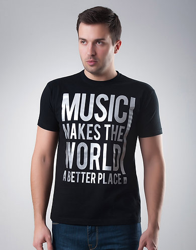 Music Makes The World A Better Place Shirt