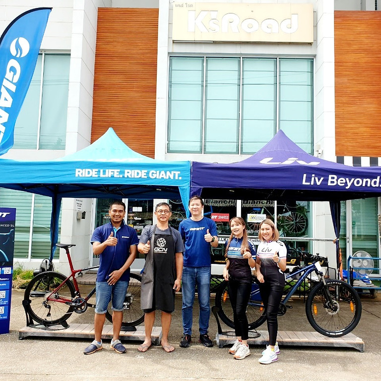 Dealers' Events GIANT THAILAND @K's road bike Rayong
