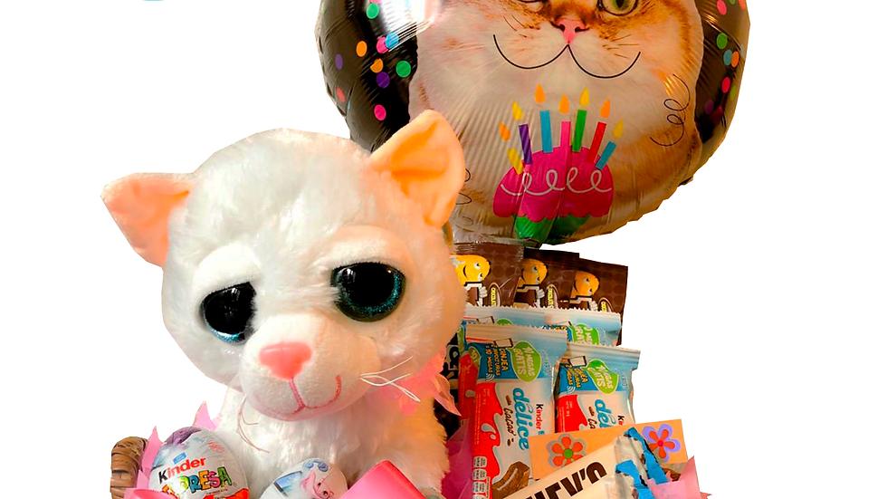 Canasta gato Kinder
