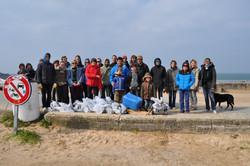 Nettoyage de plage 2013.