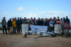 Nettoyage de plage 2014.