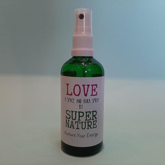 Love Space and Aura Spray