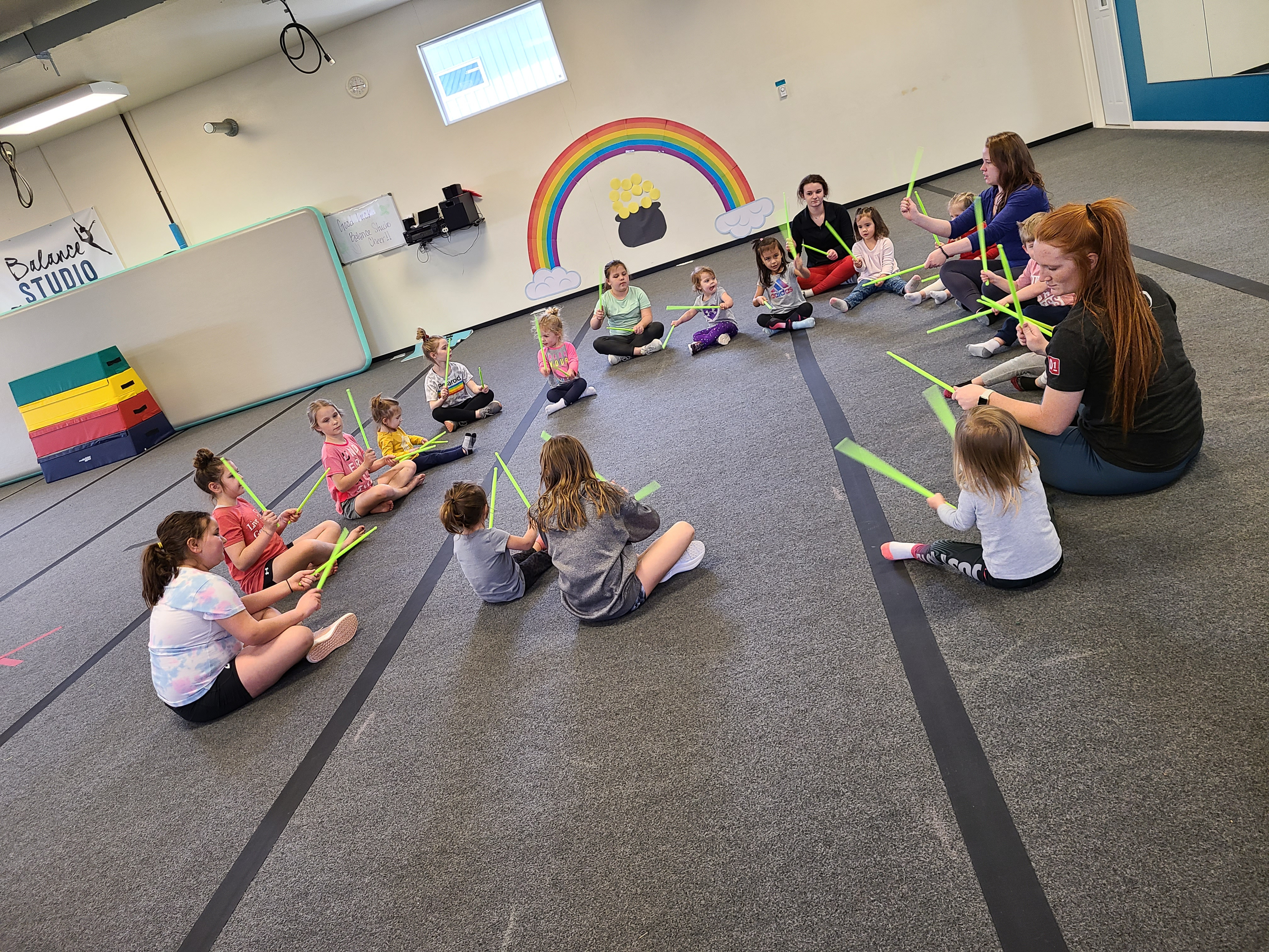 Combo Class Ages 3-5 - WEDNESDAY OPTION