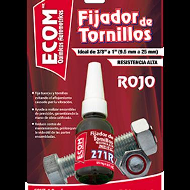 FIJADOR DE TORNILLOS ROJO