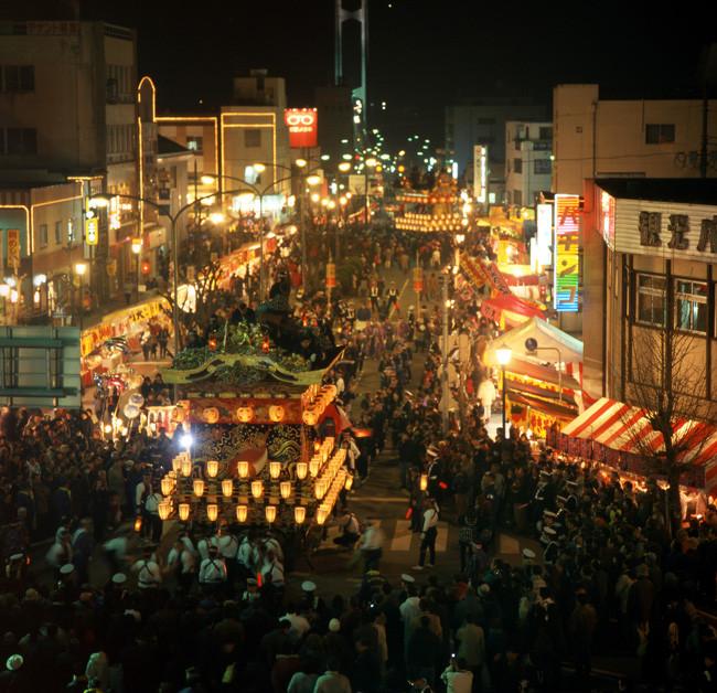 秩父夜祭風景