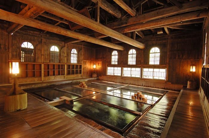 長寿館 室内風呂