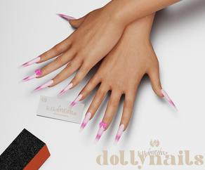 Kiko Nails: Dolly Nails 🤍