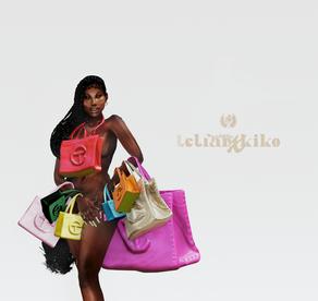 House of Kiko Vanity : Telfar Bags 🤍